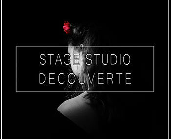 Stage photo en studio professionnel