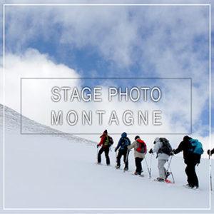 Stage photo à la montagne