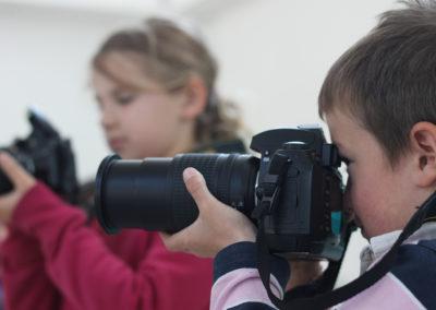 Atelier enfance - prise en main de l'appareil photo
