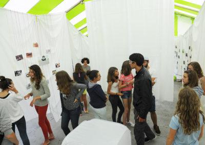 Exposition organisée en fin de séjour photo
