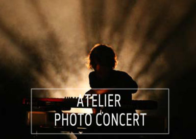 atelier photo concert