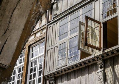 Sortie photo Dinan - Maison à pans de bois