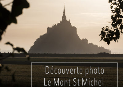 Stage photo au mont Saint Michel